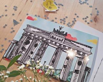 Brandenburg Gate (Brandenburger Tor) Postcards