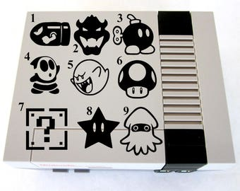 Nintendo Vinyl Decal Sticker