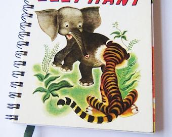 The Saggy Baggy Elephant Little Golden Book Diary/Journal/Notebook