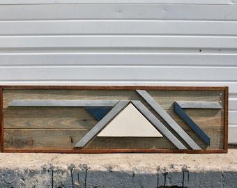 "Pallet Wood Art- ""Out of Range"""
