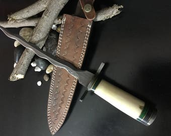 HANDMADE DAMASCUS KNIFE k0164