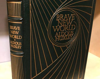 Easton Press Brave New World by Aldous Huxley 100 Greatest Series