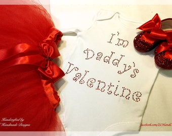 I'm Daddy's Valentine - Complete Handcrafted Set for Valentines
