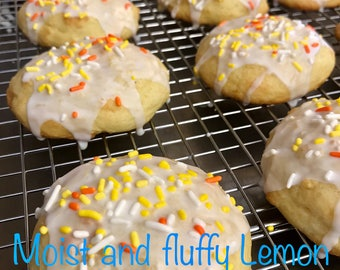 Ricotta Cookies Moist and Delicious  1 pound