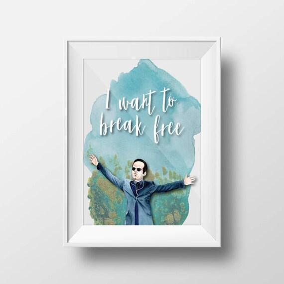 Sherlock BBC Quote Printable Wall Art Moriarty
