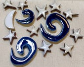 Moon and Stars Handmade C...