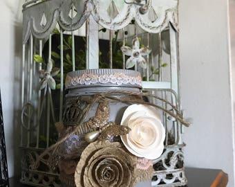 Shabby Chic Jar
