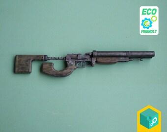 Post apocalyptic Duplet shotgun   Post apocalypse   Metro 2033   3D printed   Cosplay