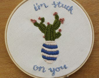 Im Stuck on You Embroidery