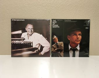 Frank Sinatra - 2 LPs - The Best of Frank Sinatra - ol' blue eyes is back - Both NEW and SEALED!!!