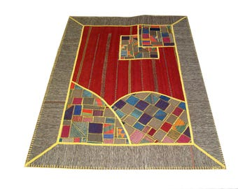 Persian Patchwork Kilim Rug PRH103, 143x200