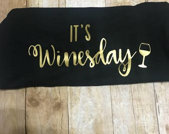 It's Winesday Tank Top