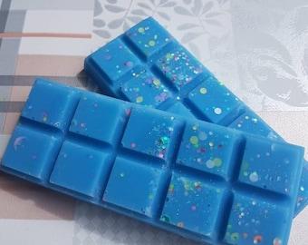 Ice Ice Baby fragranced Kerasoy wax snap bars