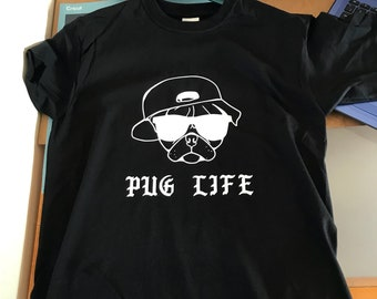 Pug Life Custom Design T-shirt