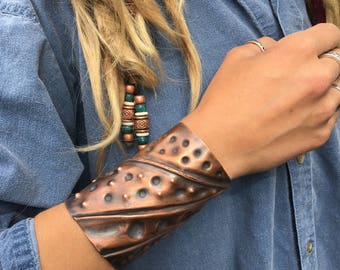 Large Copper Cuff