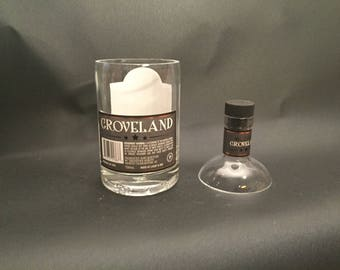 HANDCRAFTED Up-Cycled 750ML Groveland Bourbon Whiskey BOTTLE Soy Candle With/Without Base. Made To Order !!!!!