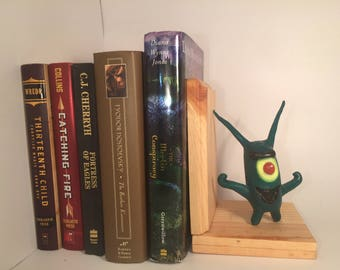 Bookend with Plankton