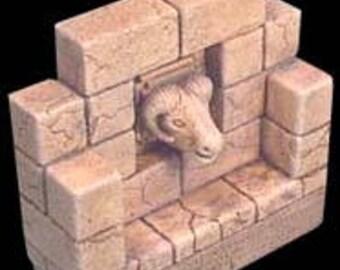 Desert Ram's Head Panel End