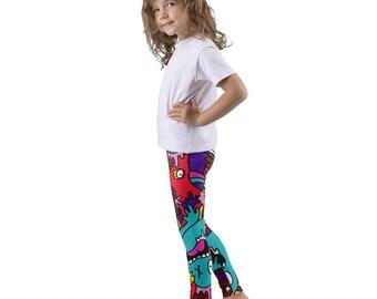 Monster Mash Kid's leggings