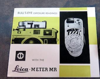 Leica Meter MR Manual