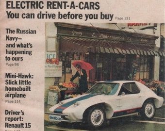 Popular Mechanics Magazine September 1972 Quick Change Ideas for Your Home