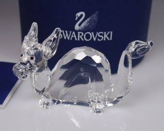 Swarovski Crystal Crystal Dragon Swarovski Dragon Zodiac Dragon  Sculpture Dragon Vintage Swarovski Dragon Vintage Crystals Chinese Dragon