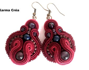 unique soutache earrings