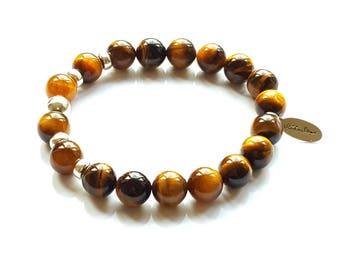 Ladies Tigers Eye Power Bracelet