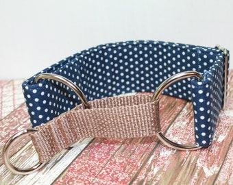 "Martingale,Martingale Collar, Greyhound Collar, Whippet Collar, 2"" wide, Adjustable Collar, Wide Dog Collar, Custom Made,Elegant Dog Collar"