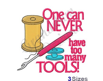 Sewing Tools - Machine Embroidery Design