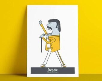 Poster MusicMonsters Freddie