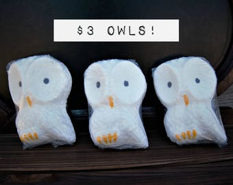 Snowy Owl / HEDWIG INSPIRED -  WHITE Bath Potion