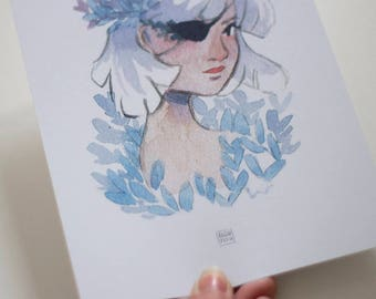Eyepatch Print A5