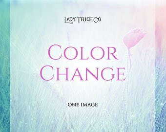Color Change Item (customization)