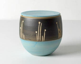 Hand-thrown jar, gifts for her