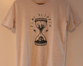 Time Slippin T-Shirt - Glory Fades - made from Organic Cotton