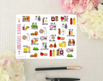 Perfect 2 Planner stickers