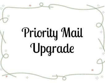 Priority Mail upgrade (USA only)