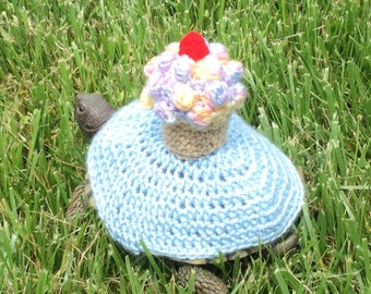 Cupcake Turtle Topper Tortoise Cozy
