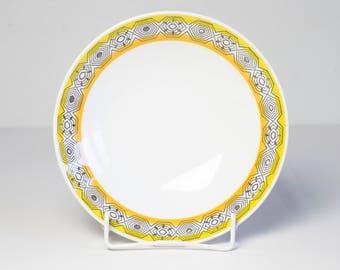 Jahrgang Rörstrand Platte Florida 1960er Jahre Schwedische Küche Mid  Century Modern Porzellan Suppe Teller Atomaren Gelben