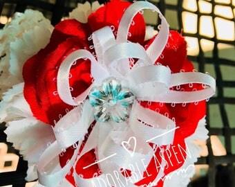 Valentine's Day headband - baby girl