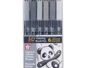 Koi Coloring Brush Set