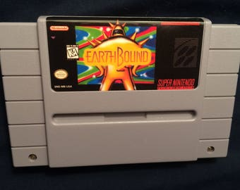 Earthbound SNES Reproduction Game