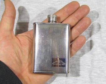 vintage pocket bottle Flask JOHNNIE WALKER