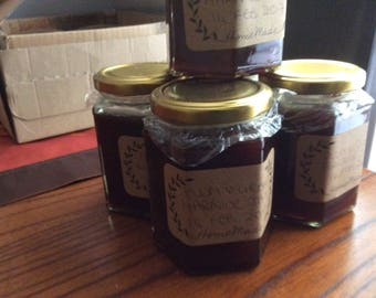 Plum and grand marnier jam