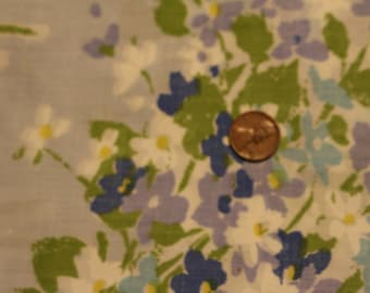 15 Vintage pretty floral cotton