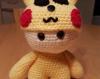 pikachu doll making wool and crochet