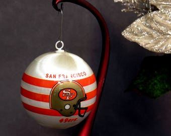 San Francisco 49ers Sports Collectors Christmas Holiday Ornament