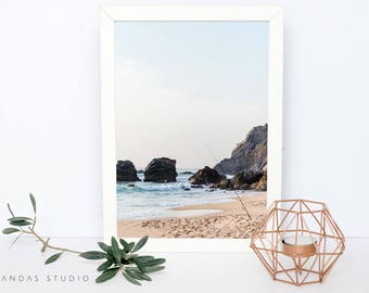 Printable Wall Art, Ocean, Photography, INSTANT DOWNLOAD, Wall Decor, Beach, Photo, Print