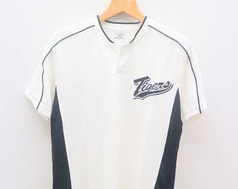 Vintage TIGERS Mizuno Sportswear White Jersey Shirt
